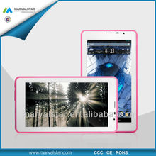 the best android tablet 6.5 inch MTK6572 Android 4.2+512MB/4GB+Bluetooth+HDMI 3G 2G GSM pocket tablet PC(MM6101)