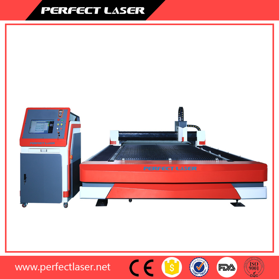 Computerized Thin Metal Steel Plate Fiber Laser Cutting Machine with 3 Years Warranty