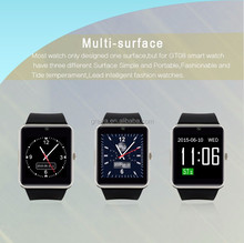 hot sale Smart Mobile Watch Phone GT08 With V 3.0 Bulethooth MTK6261