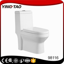 bathroom elegant design type of wc toilet OEM strap drainage pattern one piece ladies toilet