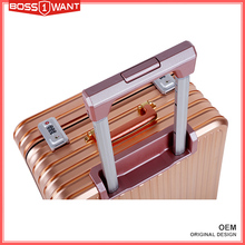 ODM Acceptable New Arrival Strong Aluminium Luggage Suitcase OEM for Customized Brand