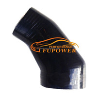 Aftermarket (none genuine) hose for VOLVO C30 S40 V50 1.6D INTERCOOLER TURBO SILICONE HOSE BOOST PIPE BLACK