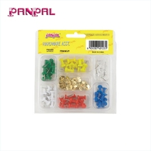 BSCI Genehmigt china fabrik ZY710 76 STÜCK Push-Pin Assortment