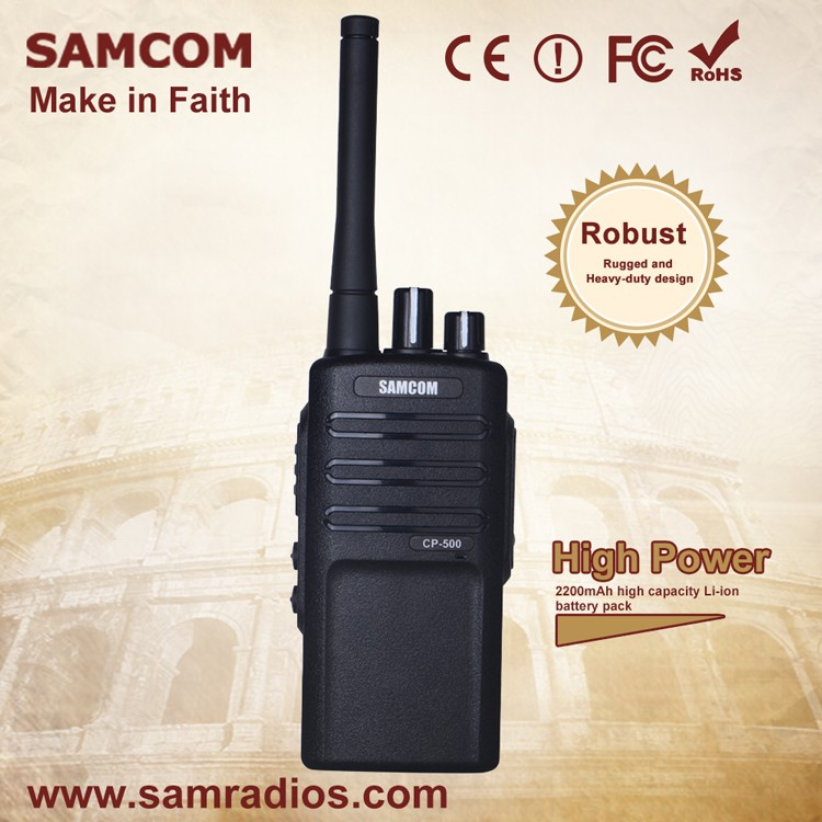 SAMCOM CP-500 high power fm wifi radio transmitter with CE/ROHS