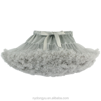 gray tulle princess tutu pettiskirt/blue shell 30 color women mesh princess dress/ dancing pettiskirt