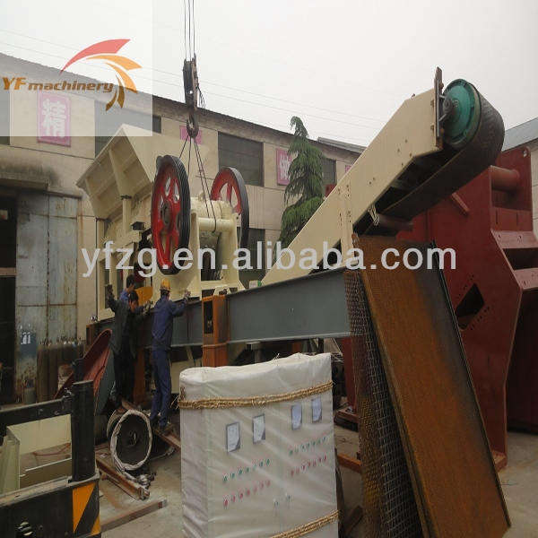 Portable track aggregate iron ore roller small mobile crusher