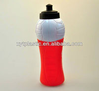 NEW BPA Free 30 oz red PLASTIC WATER BOTTLE with Push-Pull Cap
