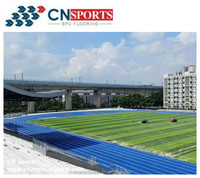 Free Sample Available IAAF Certificated PU Rubber Synthetic Running Track