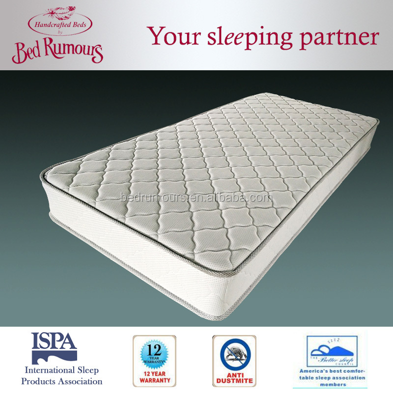Single Bed Hotel Cheap Bonnell Spring Mattress