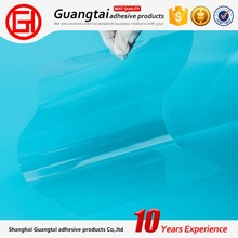 China Factory transparent Certificated pet film thickness