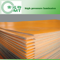 HPL/high pressure melamine laminate decorative sheet/formica sheets solid color
