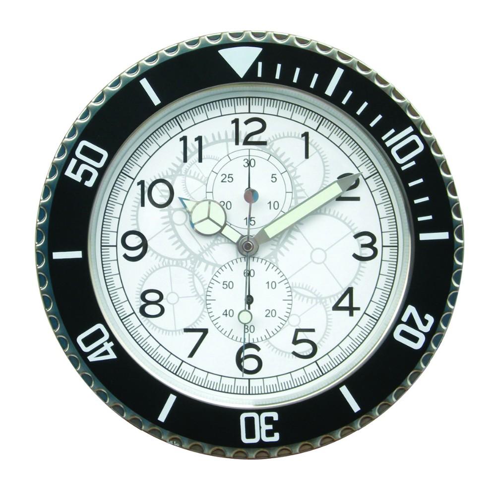 Rolex design wall clock : Home decorative rolex wall clock black color buy