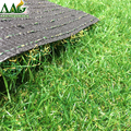 Artificial grass Four colors deep green turf residential lawn