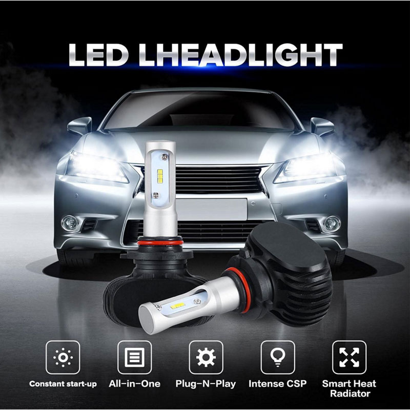 Wholesale price hot sale LED light S1 8000LM CSP chips for H4 H7 H11 car accessories exterior