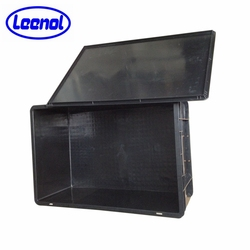 conductive crate/ESD storage container/ESD antistatic crate