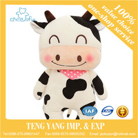 milk cow Animals plush toys 41/54cm pink Cattle cloth doll baby birthday gift for Children kids toys