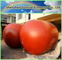 Sunrise econergy 3-100m3 PVC membrane biogas digesters for animal waste