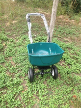 Garden Fertilizer Spreader cart with tick mark
