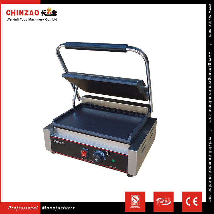 CHINZAO Best Choice Dependable Performance Commercial Cooking Machine Electric Griddle Grill For Teppanyaki