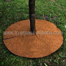 Mulch mat for out door decorative