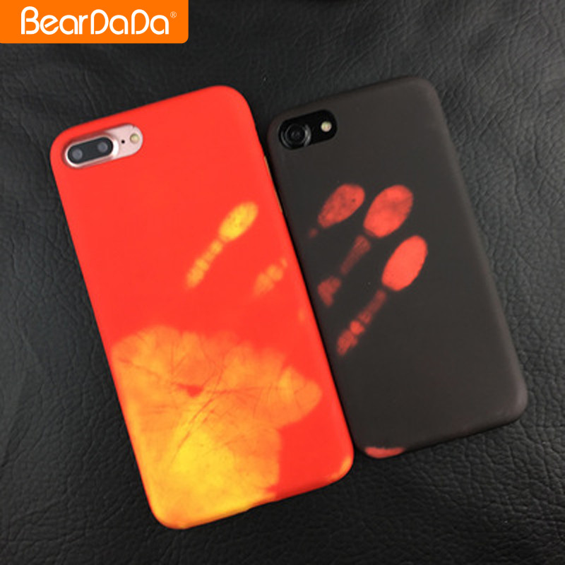 2017 Hot Sale thermal induction phone case for iphone 7