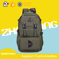 Wholesale china canvas backpack bag
