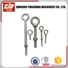 hot dipped galvanized drop forged regular anchor eye bolt large eye bolts