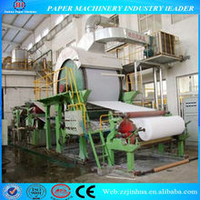1092 single cylinder & single wire tissue paper machine