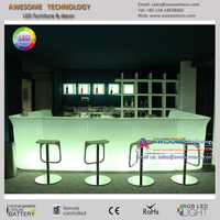 beer bar / salad bar counter design (BC110)