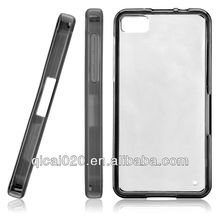tpu plus pc Case For BLACKBERRY Z10
