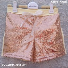 2017 baby sequin shorts wholesale girls