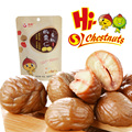 Ready to eat peeled chestnuts healthy foods
