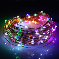 Garden home party decor 10m 100leds UL listed copper wire led string light