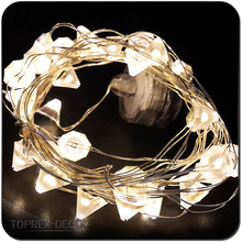 Bling Diamond Led Light Strip Battery For Christmas Decor