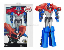 Autobots Robots In Disguise Titan Changers Optimus Robot Action Figure
