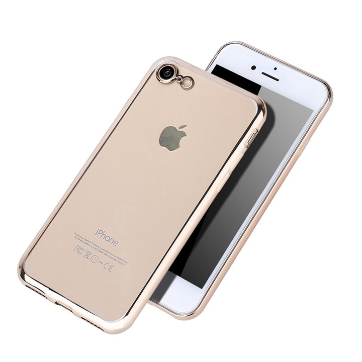 For iphone 7 luxury TPU mobile phone case, high quality electroplate cell phone case