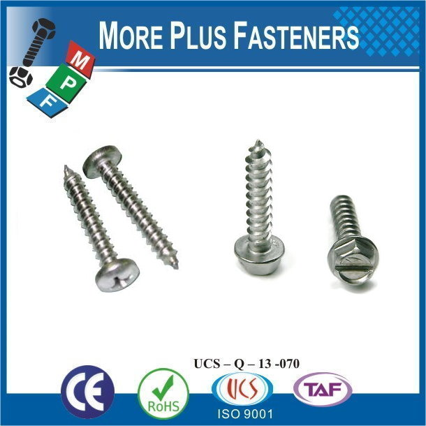 Taiwan Stainless Steel 18-8 Copper Brass Aluminum Brass Letters Metal Screw Back Metal Screw For Mop Handle Aluminum Sheet Metal