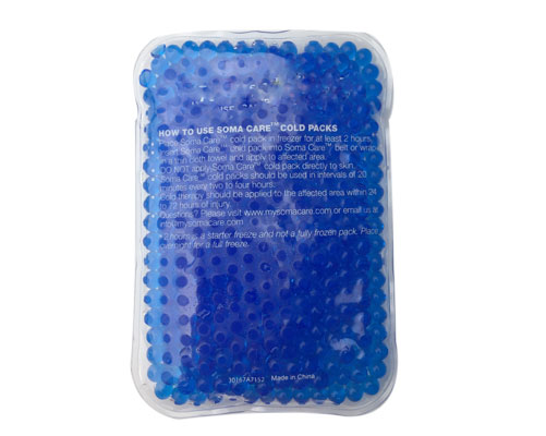 Gel beads cooling ice pack/Hot cold beads for pain relieving