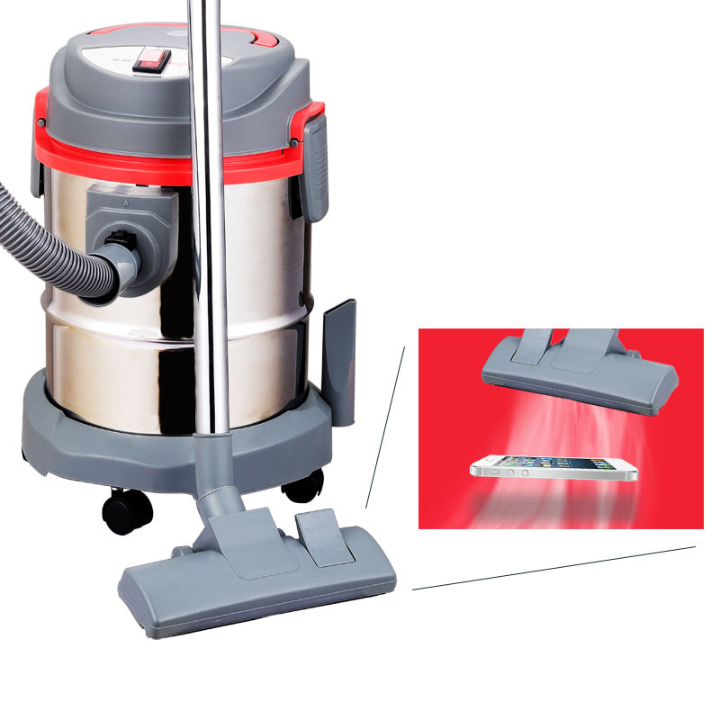 Industrial Vacuum Blowers : Industrial wet and dry vacuum cleaner on heavy duty with