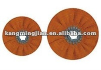 bias open sisal cotton polishing wheel ,bias cloth buff wheel