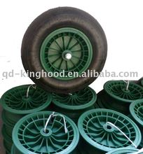 Plastic hub Pneumatic Wheel