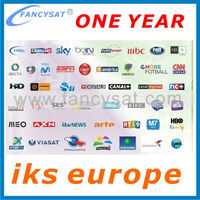 Europe cccam cline account for 1 year