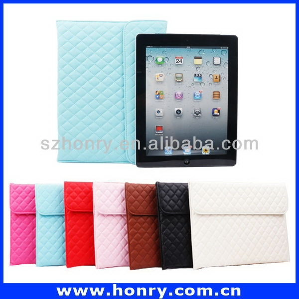 Customized new coming 3 folding protective case for ipad pro