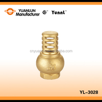 "Hot Sales Wholesale Price Standard YL-3028 Thread Brass 1/2"" Check Water Valve"