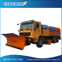Highway environmental protection multipurpose snow removal truck