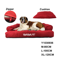 2016 New Design Luxury Dog Bed Sofa, Pet Dog Sofa, Large Dog Bed