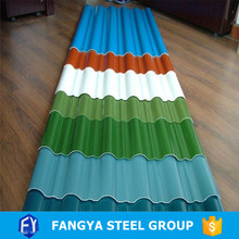 free samples ! corrugated sheets galvanized corrugated metal roofing sheet for shed