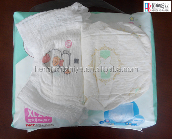 sleepy baby diaper magic tape and japanese quality popular disposable cartoon econmic printed OEM training