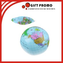 Promotional PVC Inflatable Earth Globe Beach Ball