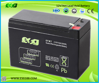 12V 6V 7AH rechargeable storage battery battery batteries for equipments